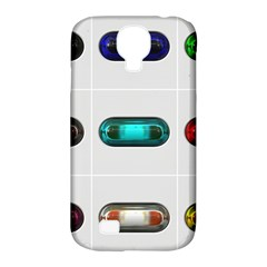 9 Power Button Samsung Galaxy S4 Classic Hardshell Case (PC+Silicone)