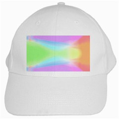 Abstract Background Colorful White Cap