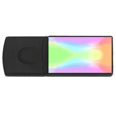 Abstract Background Colorful USB Flash Drive Rectangular (2 GB)