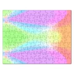 Abstract Background Colorful Rectangular Jigsaw Puzzl