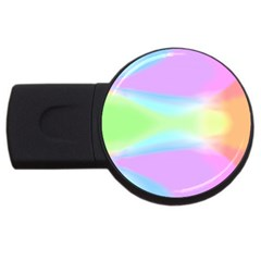Abstract Background Colorful USB Flash Drive Round (4 GB)