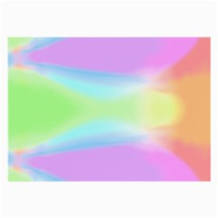 Abstract Background Colorful Large Glasses Cloth