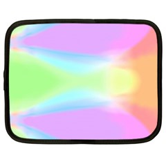Abstract Background Colorful Netbook Case (Large)