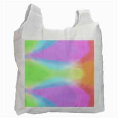 Abstract Background Colorful Recycle Bag (One Side)