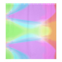 Abstract Background Colorful Shower Curtain 66  X 72  (large)