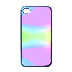 Abstract Background Colorful Apple Iphone 4 Case (black)