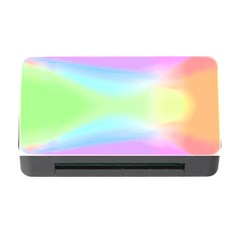 Abstract Background Colorful Memory Card Reader with CF