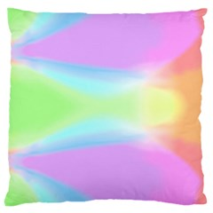 Abstract Background Colorful Large Cushion Case (One Side)