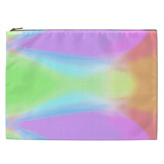 Abstract Background Colorful Cosmetic Bag (XXL)