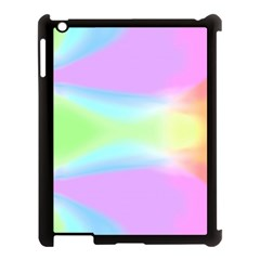 Abstract Background Colorful Apple iPad 3/4 Case (Black)