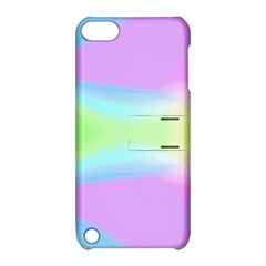 Abstract Background Colorful Apple iPod Touch 5 Hardshell Case with Stand