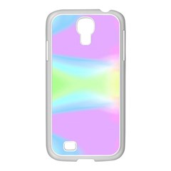 Abstract Background Colorful Samsung GALAXY S4 I9500/ I9505 Case (White)