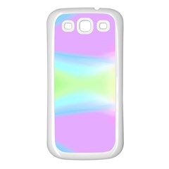 Abstract Background Colorful Samsung Galaxy S3 Back Case (White)