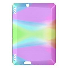 Abstract Background Colorful Kindle Fire HDX Hardshell Case