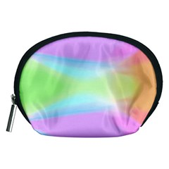 Abstract Background Colorful Accessory Pouches (Medium)