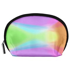 Abstract Background Colorful Accessory Pouches (Large)