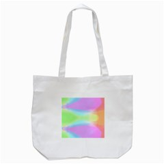 Abstract Background Colorful Tote Bag (White)