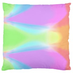 Abstract Background Colorful Large Flano Cushion Case (Two Sides)