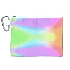 Abstract Background Colorful Canvas Cosmetic Bag (XL)