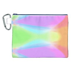 Abstract Background Colorful Canvas Cosmetic Bag (XXL)
