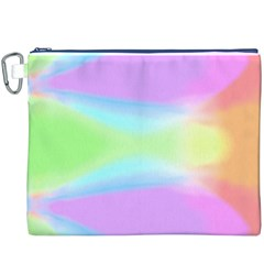 Abstract Background Colorful Canvas Cosmetic Bag (XXXL)