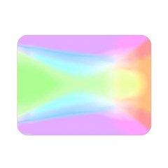 Abstract Background Colorful Double Sided Flano Blanket (mini)