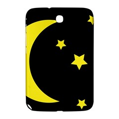 Moon Star Light Black Night Yellow Samsung Galaxy Note 8.0 N5100 Hardshell Case