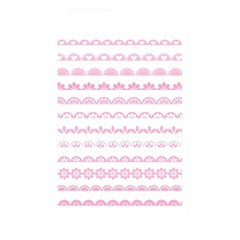 Pink Lace Borders Pink Floral Flower Love Heart Memory Card Reader
