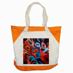 Abstract Fractal Accent Tote Bag