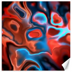 Abstract Fractal Canvas 12  X 12
