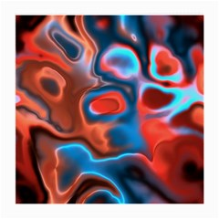 Abstract Fractal Medium Glasses Cloth (2-Side)