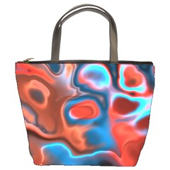 Abstract Fractal Bucket Bags