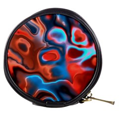 Abstract Fractal Mini Makeup Bags