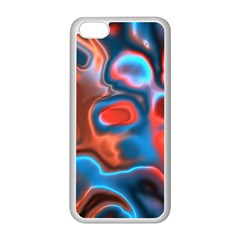 Abstract Fractal Apple iPhone 5C Seamless Case (White)