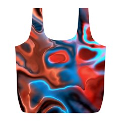 Abstract Fractal Full Print Recycle Bags (L)
