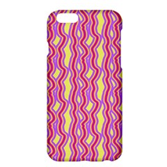 Pink Yelllow Line Light Purple Vertical Apple iPhone 6 Plus/6S Plus Hardshell Case