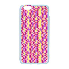 Pink Yelllow Line Light Purple Vertical Apple Seamless iPhone 6/6S Case (Color)