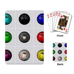 9 Power Buttons Playing Card