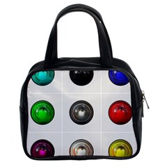 9 Power Buttons Classic Handbags (2 Sides)
