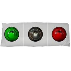 9 Power Buttons Body Pillow Case (Dakimakura)
