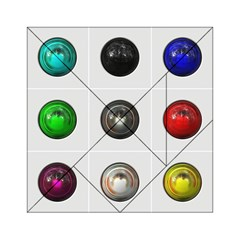 9 Power Buttons Acrylic Tangram Puzzle (6  x 6 )