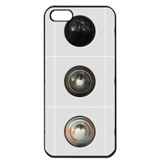 9 Power Buttons Apple iPhone 5 Seamless Case (Black)
