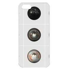 9 Power Buttons Apple iPhone 5 Seamless Case (White)
