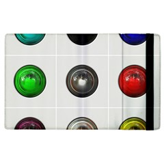 9 Power Buttons Apple iPad 2 Flip Case