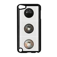 9 Power Buttons Apple iPod Touch 5 Case (Black)