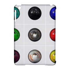 9 Power Buttons Apple iPad Mini Hardshell Case (Compatible with Smart Cover)
