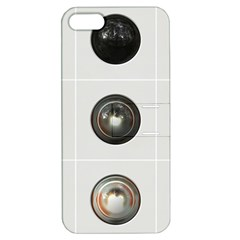 9 Power Buttons Apple iPhone 5 Hardshell Case with Stand