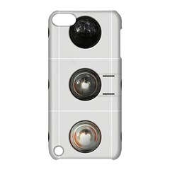 9 Power Buttons Apple iPod Touch 5 Hardshell Case with Stand
