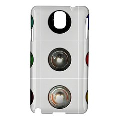 9 Power Buttons Samsung Galaxy Note 3 N9005 Hardshell Case