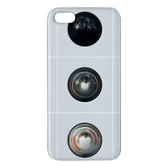 9 Power Buttons iPhone 5S/ SE Premium Hardshell Case
